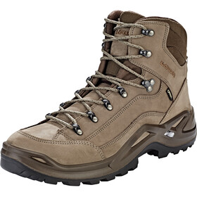 Lowa Renegade GTX Mid Shoes Men, stone/espresso
